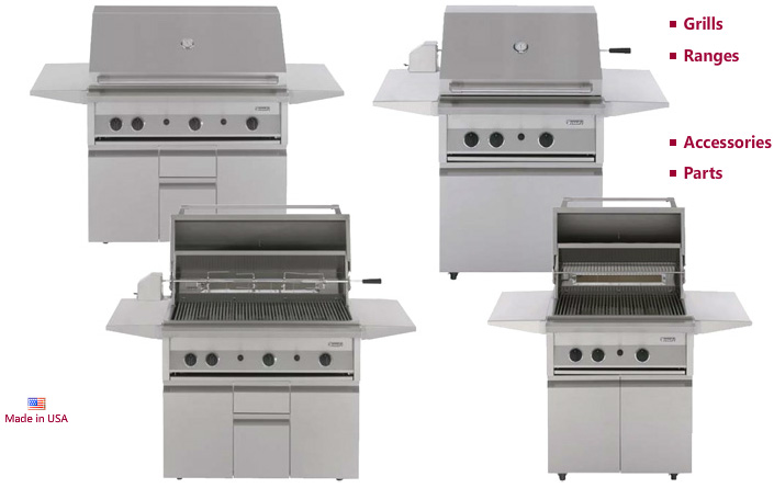 Dynasty Grills and Ranges Home Page