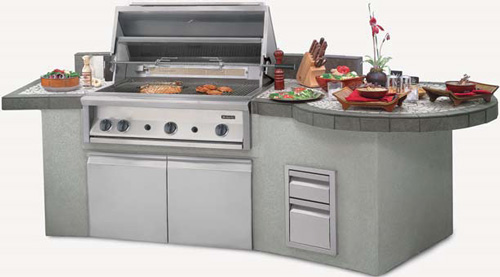 Dynasty 42 Quot Gourmet Grill Natural Gas Built In Without